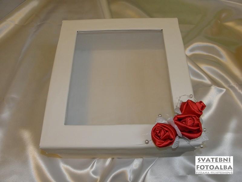 svatební fotoalbum, kniha hostů, krabička, svatba, vývazky, jmenovky