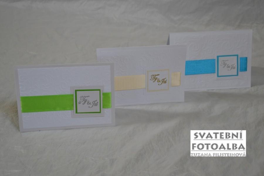 kniha hostů, svatební fotoalbum, polštářek pod prstýnky, svatební deník, svatební oznámení, vývazek, podvazek