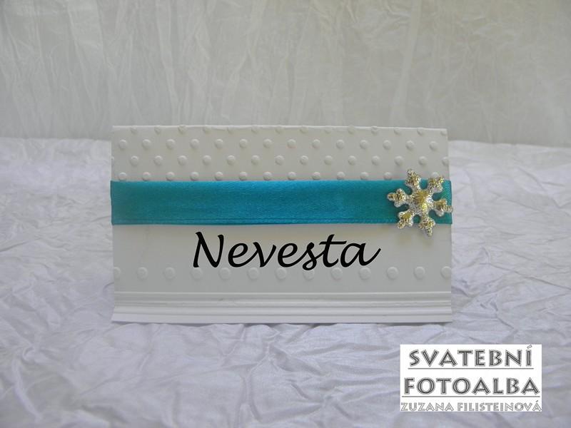 svatební jmenovka na stůl, jmenovka na svatební stůl, jmenovka, svatba