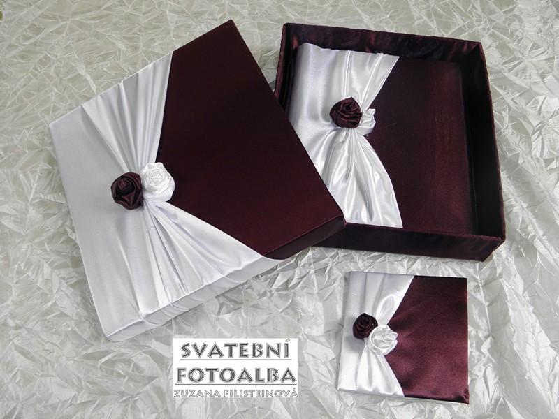 svatební fotoalbum, kniha hostů, album, svatba