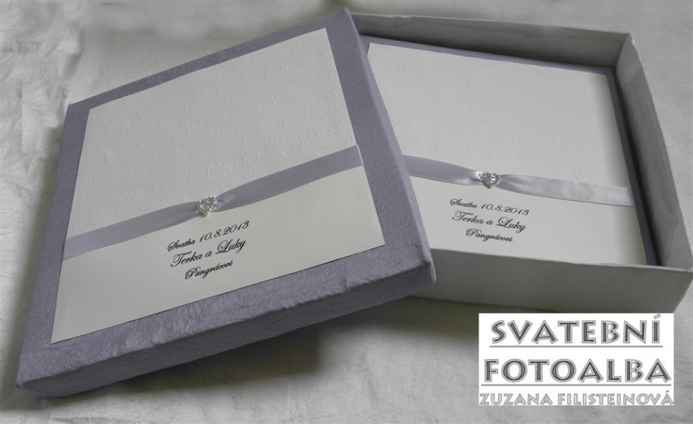 svatební fotoalbum, kniha hostů