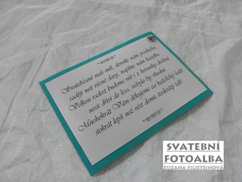 svatební oznámení, pozvánka ke svatebnímu stolu, menu, jmenovka