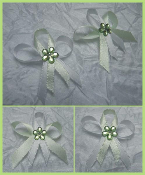 svatební vývazek, vonička, zelená, kytička